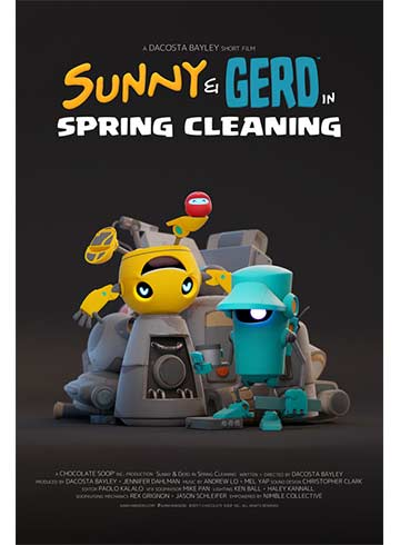 Sunny and Gerd in Spring Cleaning