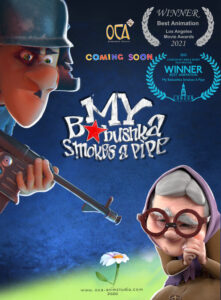 MY BABUSHKA SMOKES A PIPE<p>(Russia)